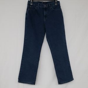 Lee Relaxed Fit Straight Cut Denim Blue Jeans